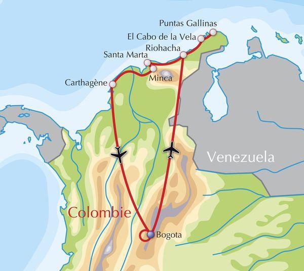 Voyage Aventure Découverte Adeo Voyages Colombie Nord